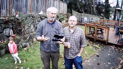 First video drone flight