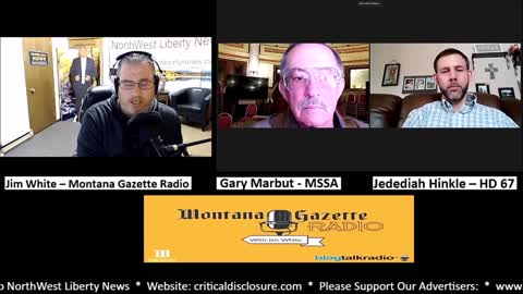 Montana Gazette Radio - Gary Marbut and Jedediah Hinkle on HB258