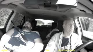 Dad Gets Drowsy During Drive