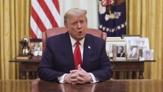 President Donald J Trump on 2021, Jan 13