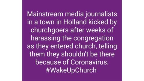 Church goers attacks Journalists for Harassment