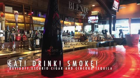 Eat! Drink! Smoke! Episode 128: Cincoro Tequila Tasting and Davidoff Escurio Cigar