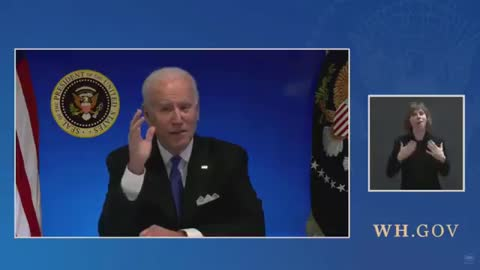WATCH: White House Cuts Feed After Biden Tries to Take Live Questions