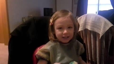 Emma sings phonics song