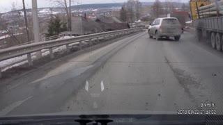 Truck Brakes Fail on Mountain Descent