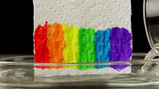 How to grow a rainbow at home