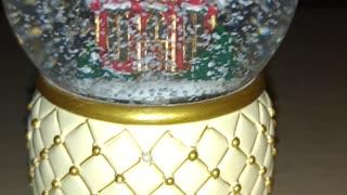 Church Snow Globe