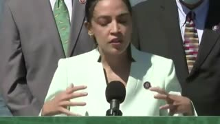 AOC Blames Climate Change for Several Random Issues in BIZARRE Rant