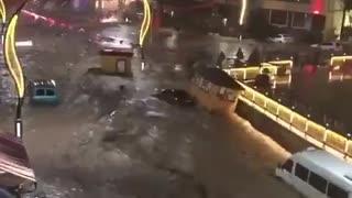 Black Sea Coast in Turkey pummeled by flash floods