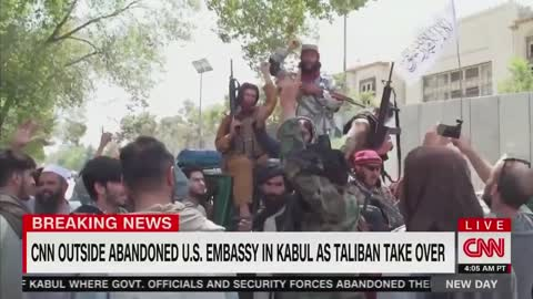 CNN: They're Just Chanting 'Death to America' but They Seem Friendly at the Same Time