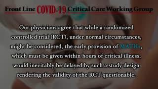 The MATH+ Protocol Treatment for COVID-19
