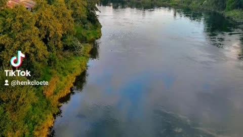 Hamilton, Waikato River. New Zealand.