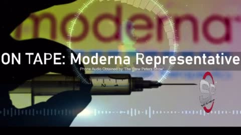 BREAKING! Recordings of Moderna Rep Making HORRIFIC Admission About Jab