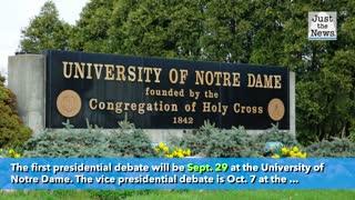 University of Michigan pulls out of Trump-Biden debate