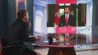 """Justin Trudeau On """"Meet The Press"""""""
