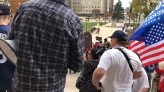 Day 2 Michigan State Capitol STOP THE STEAL Video 3