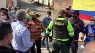 Iván Duque llega a Suaita