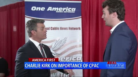 Real America: Dan Ball W/ Charlie Kirk - March 1st