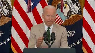 Biden: Well Over 350 million Americans Vaccinated. US Population is < 333 million.