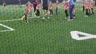 Bo Jackson flag 🏳 football 2021 practice 1