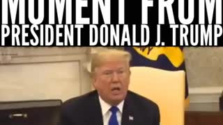 President Trump, Another Thug-Life Moment