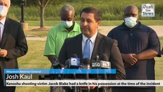 Kenosha shooting victim Jacob Blake had a knife in his possession