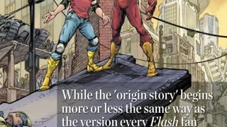 The Future Flash Old Barry Allen Revealed By DC.....