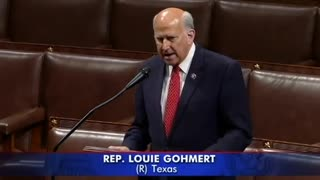 Louie Gohmert Suggests Federal Agents Were Behind Capitol Attack