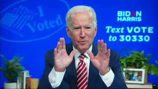Joe Biden Brags About stealing the election