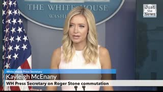 WH Press Secretary on Roger Stone commutation