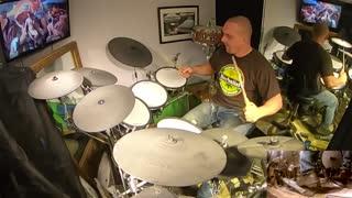 I Stand Alone ~ GodSmack drum cover