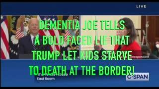 Biden Lies About Trump