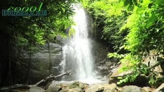 4K - Waterfall Sound, Relaxing Nature Sounds, Relaxing Music