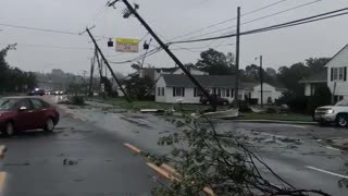 Extreme tornado damage documented in Dover, Delaware