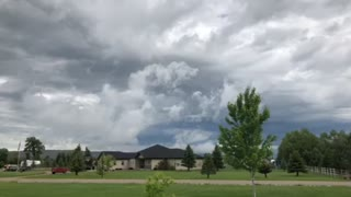 Crazy weather in Montana