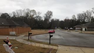 First Alabama Snowfall This Season