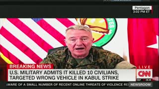 U.S. Military Admits Kabul Airstrike Killed 10 Civilians, Including 7 Children