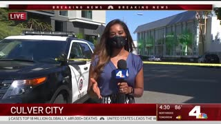 Officer Shot, Knife-Wielding Suspect Killed During Police Shooting in Culver City