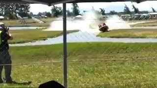 High Speed Race Boat Flies Out of Water Plunging into Crowd Albany, Oregon