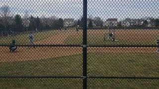 Baseball hitting scrimmage 2021