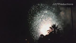 2014 Redlands 4th of July fireworks. Ewwss and ahhhss