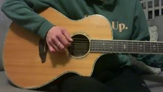 Acoustic Guitar Easy Fingerpicking Exercise