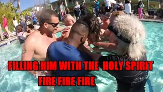 BAPTISM DELIVERANCE BY FIRE FIRE FIRE