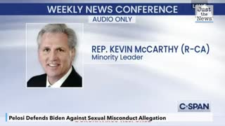 McCarthy calls Pelosi a 'hypocrite' for defending Biden against sexual misconduct allegation