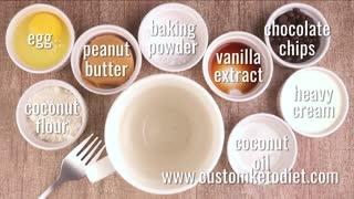 Keto Choco Peanut Butter Mug Cake