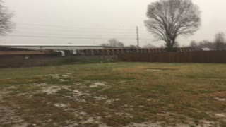 Tornado Causes Train Derailment