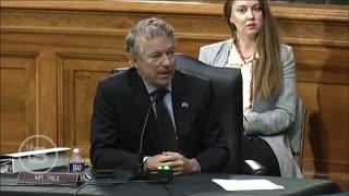 Rand Paul SHOCKS America When He Exposes the Truth Behind Bidens Drone Strike