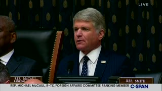 Rep. McCaul on Afghanistan This Was An Unmitigated Disaster