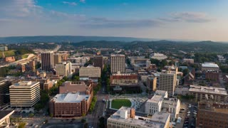 City Drone Footage