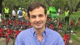 Manuel Azuero, alcalde de Bucaramanga, habla sobre el proyecto Metrobici